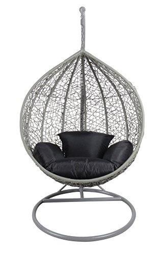 Rattan Swing Chair Outdoor Garden Patio